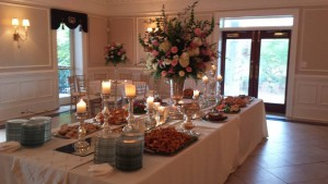 Stafford-Manders buffet table